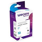 Wecare 10 B, C4844AE, Cartucho de Tinta remanufacturado, compatible con HP, Negro