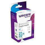 Wecare 21XL-22XL, C9351CE-C9352CE, Cartucho de Tinta remanufacturado, compatible con HP, Negro, Tricolor, Alta capacidad