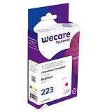 Wecare 223, LC223 M, Cartucho de Tinta remanufacturado, compatible con BROTHER, Magenta