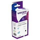 Wecare 27, C8727A, Cartucho de Tinta remanufacturado, compatible con HP, Negro