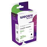 Wecare 27XL B, T2711, Cartucho de Tinta, compatible con EPSON, Negro