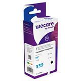 Wecare 339, C8767EE, Cartucho de Tinta remanufacturado, compatible con HP, Negro, Alta capacidad
