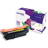 Wecare 507A, CE402A, Tóner remanufacturado, compatible con HP, Amarillo