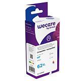 Wecare 62XL 3C, C2P07AE, Cartucho de Tinta remanufacturado, compatible con HP, Tricolor
