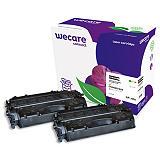 Wecare 80X, CF280X, Tóner remanufacturado, compatible con HP, Pack de 2