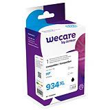 Wecare 934XL B, C2P23AE, Cartucho de Tinta remanufacturado, compatible con HP, Negro