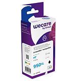Wecare 950XL B, CN045AE, Cartucho de Tinta remanufacturado, compatible con HP, Negro