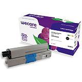 Wecare C301 B, 44973536, Tóner remanufacturado, compatible con OKI, Negro