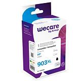 Wecare Cartuccia inkjet rigenerata compatibile con HP 903XL BK, T6M15AE, Nero, Pacco singolo Alta capacità