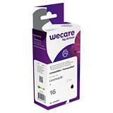 Wecare LEX 16, 10N0016E, Cartucho de Tinta remanufacturado, compatible con LEXMARK, Negro