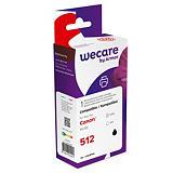 Wecare PG-512, 2969B001, Cartucho de Tinta remanufacturado, compatible con CANON, Negro