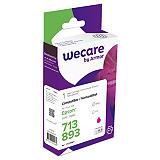 Wecare T0713, T0893, Cartucho de Tinta, compatible con EPSON, Magenta