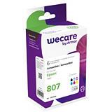 Wecare T0801, T0802, T0803, T0804, T0805, T0806, T0807, Cartucho de Tinta, compatible con EPSON, Negro, Cian, Magenta, Amarillo, Cian Photo, Magenta Photo, Multipack