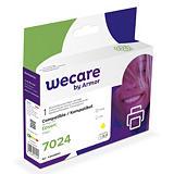 Wecare T7024, Cartucho de Tinta remanufacturado, compatible con EPSON, Amarillo