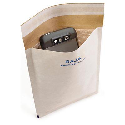 Weisse Luftpolster-Versandtaschen RAJA