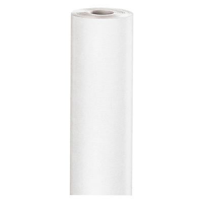 Weisses Packpapier auf der Rolle