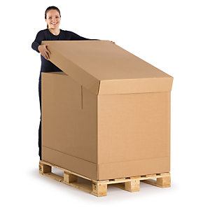 Wellpapp Container Fur Versand Schwerer Produkte Rajapack