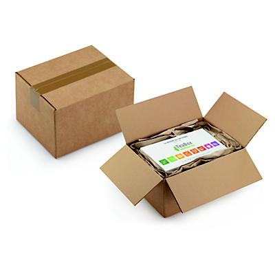 Caisse à montage rapide##Wellpapp-Faltkartons mit halbautomatischem Boden