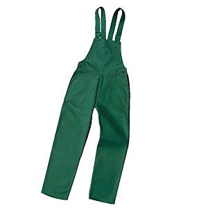Werkbroek in groen polykatoen maat 52/54
