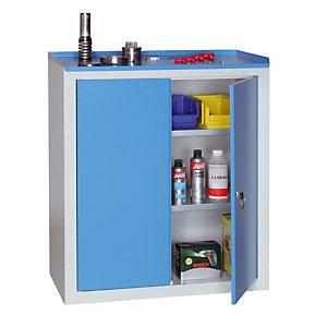 Werkplaatskast grijs/blauw