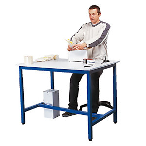 Werktafel verstelbaar in hoogte