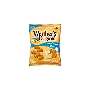 Werther's Original Cream Toffee Caramelle toffee, Bustina da 125 g