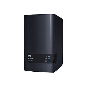 Western Digital My Cloud Expert Series EX2 Ultra NAS Network Storage USB 3.0 8 TB, 3,5'', Crittografia AES a 256 bit, Nero