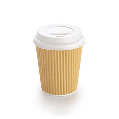 White Domed Sip Through Lid – Box of 1000