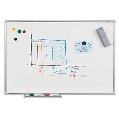 Tableau blanc Legamaster ECONOMY PLUS##Whiteboards Legamaster ECONOMY PLUS