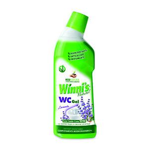 Winni's Naturel WC Gel Disincrostante Anticalcare, Profumo Lavanda, Flacone 750 ml