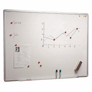 Witte gelakte bord 60 x 90 cm