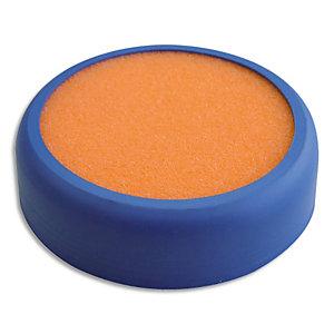 WONDAY Mouilleur éponge diamètre 80 mm, base plastique coloris Orange