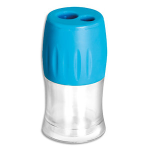WONDAY Taille-crayons Liberty 2 trous avec réservoir