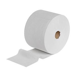 Wypall* L20 Rollo de toallitas de papel de limpieza, 2 capas, 1500 hojas, 230 mm, blanco