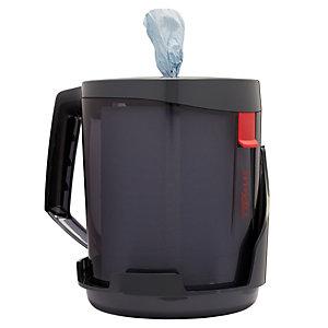 Wypall* Reach - Distributeur portable de papier d'essuyage à dévidage central feuille à feuille - Pour bobines Wypall Reach - Noir