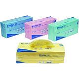 Wypall* X50 Toallitas de limpieza plegadas de una capa de color azul de 245 x 416 mm
