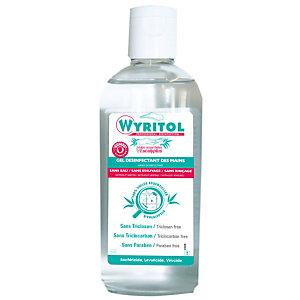Wyritol Gel hydroalcoolique désinfectant mains aux huiles essentielles d'eucalyptus - Flacon 100 ml