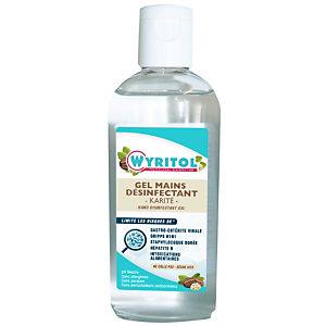 Wyritol Gel hydroalcoolique Karité désinfectant mains - Flacon 100 ml