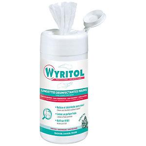 Wyritol Lingettes désinfectantes mains - Boîte de 100