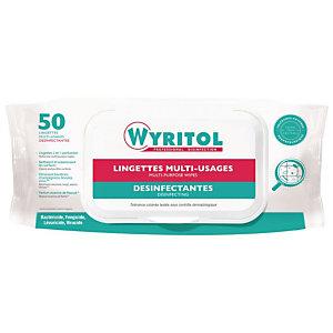 Wyritol Lingettes désinfectantes multi-usages - Paquet de 50