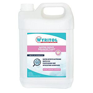 Wyritol Savon liquide désinfectant mains - Bidon 5 L