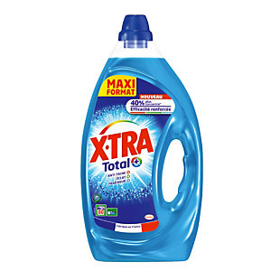 X-TRA Lessive liquide X-Tra Total+, 4 L - 80 doses
