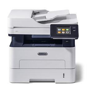 Xerox B215 multifonction copie/impression/numérisation/télécopie sans fil recto verso A4, 30 ppm, PS3 PCL5e/6, ADF, 2 bacs, total 251 feuilles, Laser, Impression mono, 1200 x 1200 DPI, A4, Impression directe, Noir, Blanc B215V/DNI