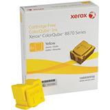 Xerox ColorQube 8870, 108R00956, Tinta Sólida Original, Amarillo, Pack de 6
