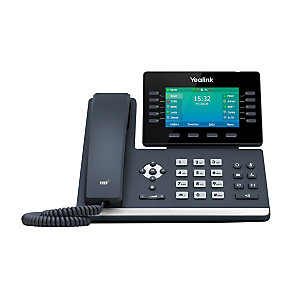 Yealink T54W - Téléphone IP SIP professionnel - Wifi et Bluetooth - Noir