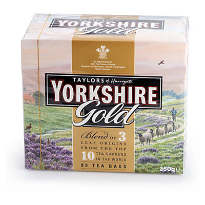 Yorkshire Tea Gold Tea Bags – Pack of 80