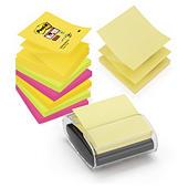 Z-gevouwen Post-it memoblokjes met houder