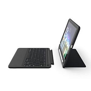 "ZAGG Slim Book Go, AZERTY, Français, Apple, Apple iPad 9.7"", Noir, 24,6 cm (9.7"") 103302310"