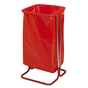 Zakhouder op poten 110 L rode cadmium staal