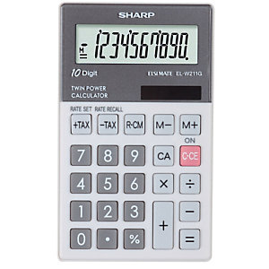 Zakrekenmachine Sharp EL-W211GGY